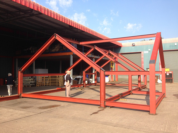 Bunglaow Extension Steel Frame Ready Constructive