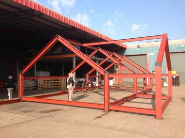 steel frame for house